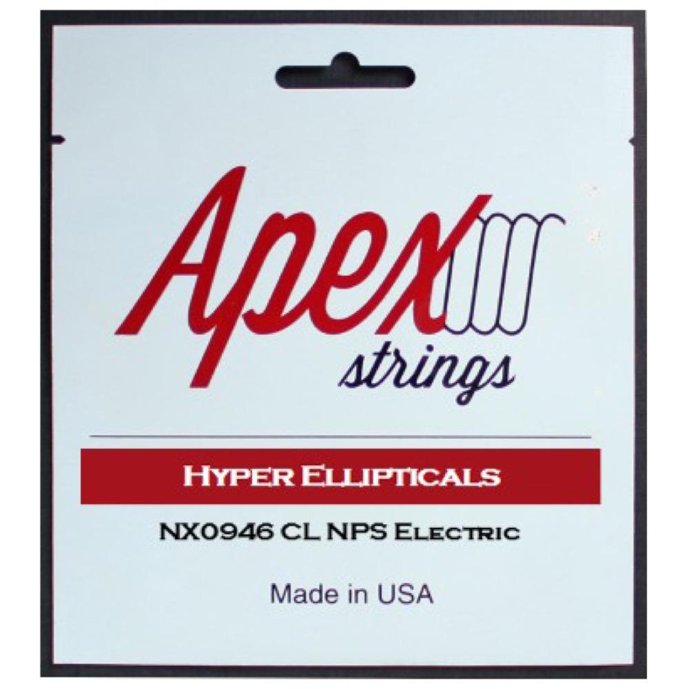 Apex Strings NX0946 エレキギター弦×10セット