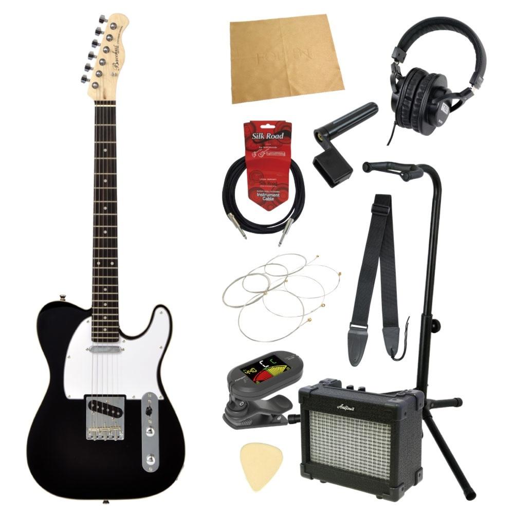 エレキギター入門11点セット BACCHUS BTC-1R BLK