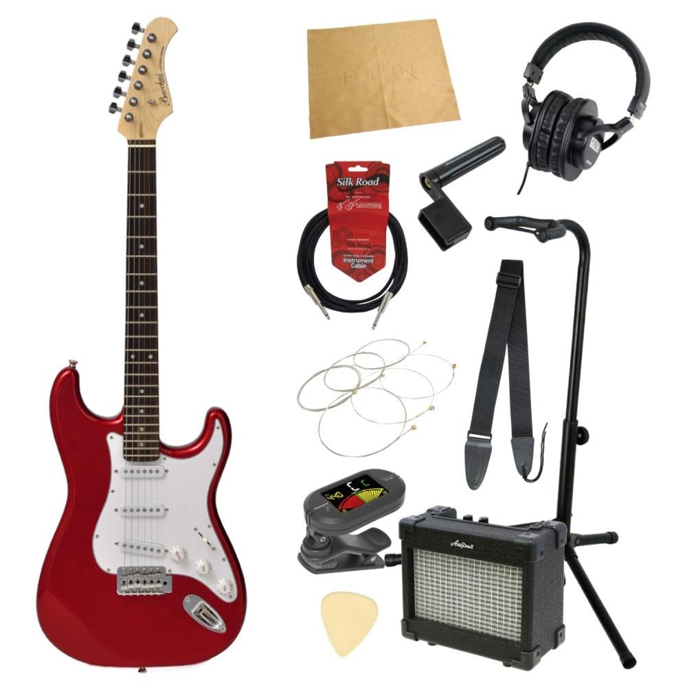 エレキギター入門11点セット BACCHUS BST-1R CAR