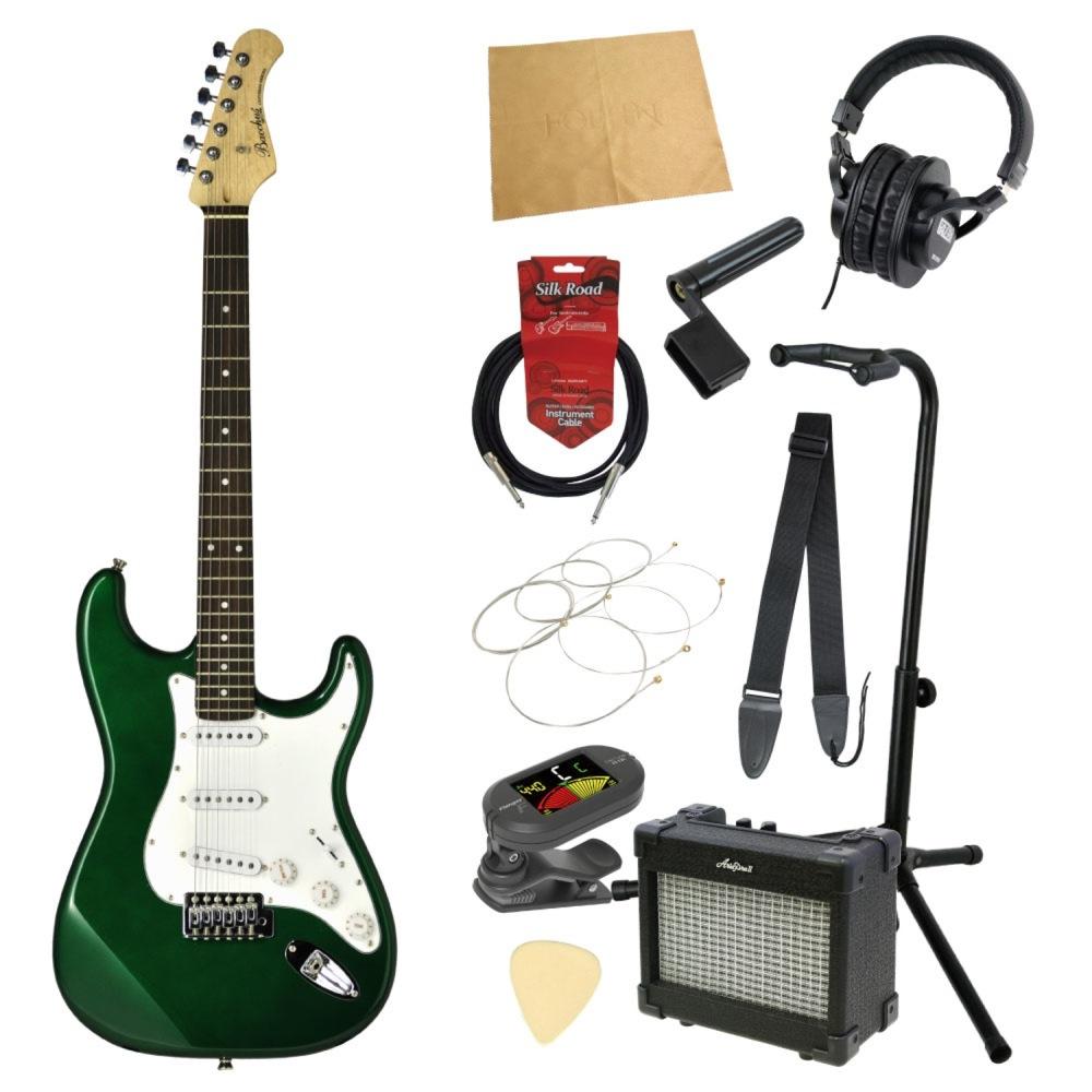 エレキギター入門11点セット BACCHUS BST-1R GRM
