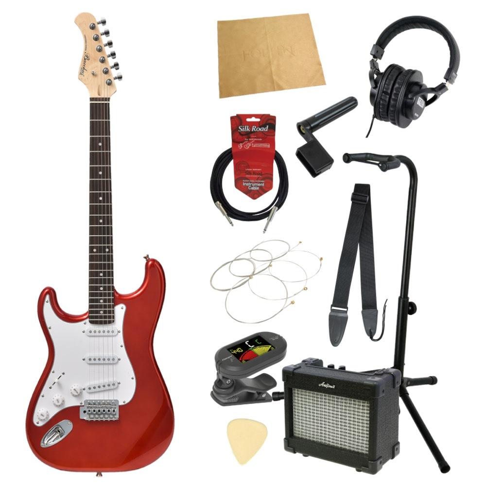 エレキギター入門11点セット BACCHUS BST-1R LH CAR