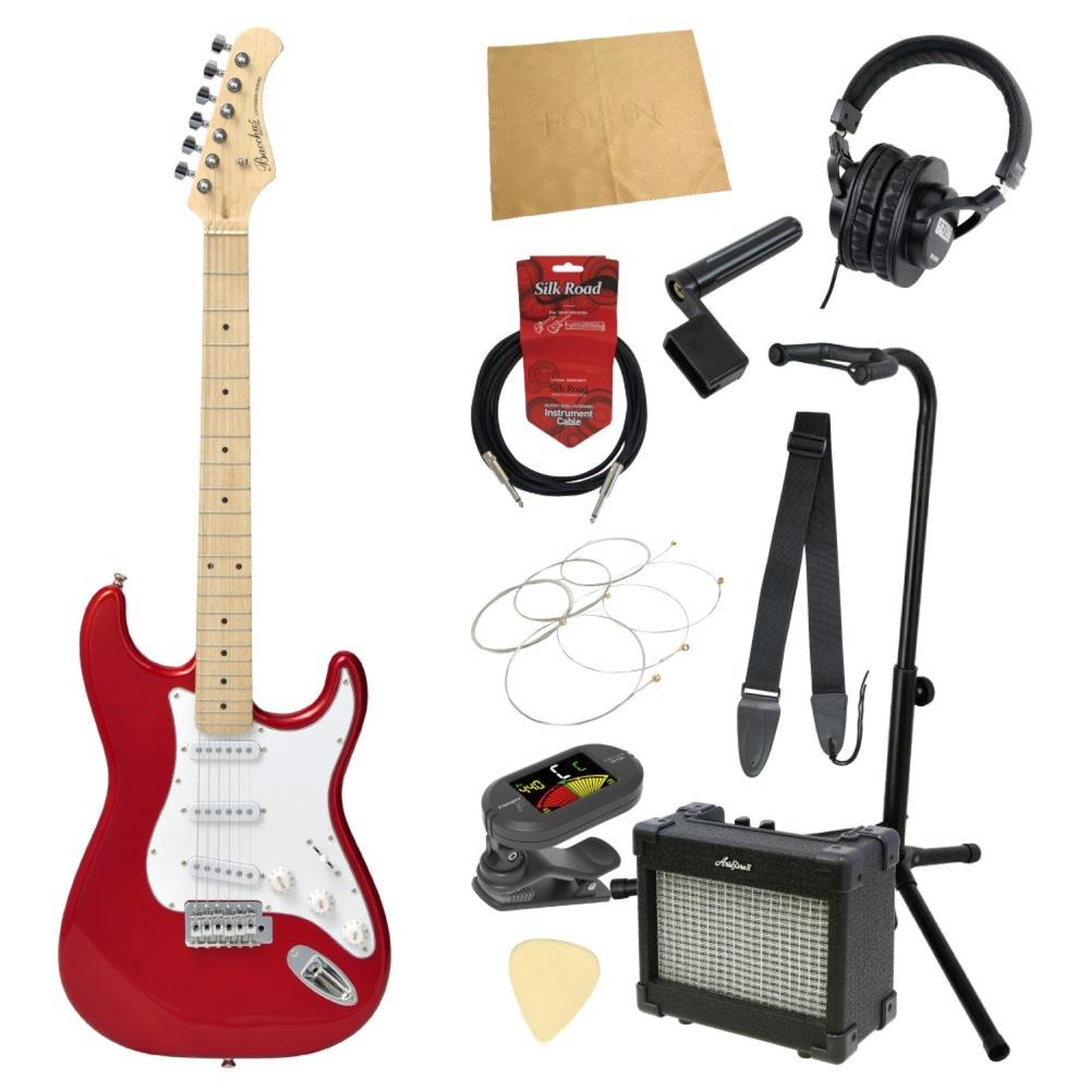 エレキギター入門11点セット BACCHUS BST-1M CAR