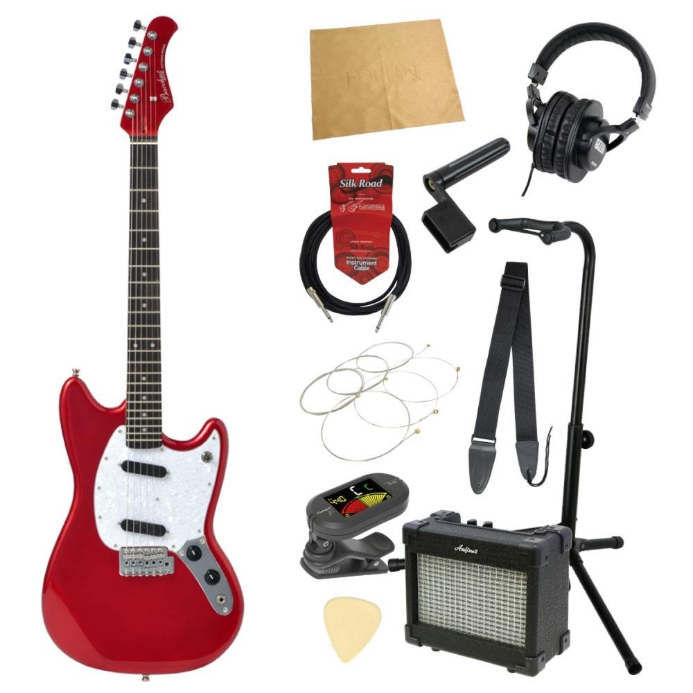 エレキギター入門11点セット BACCHUS BMS-1R CAR