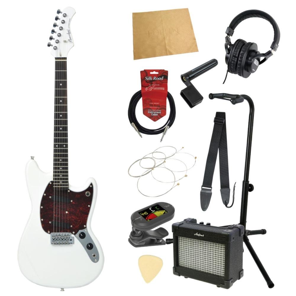エレキギター入門11点セット BACCHUS BMS-1R SW