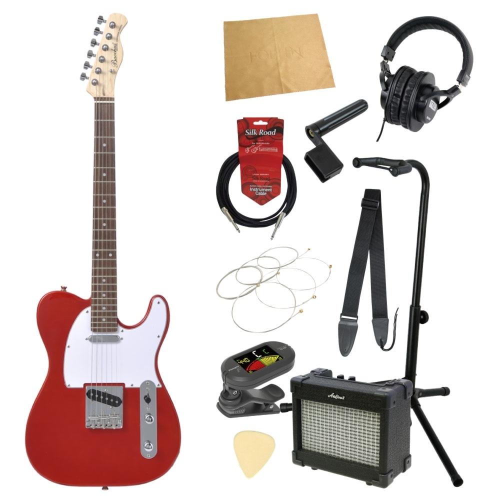 エレキギター入門11点セット BACCHUS BTE-1R CAR