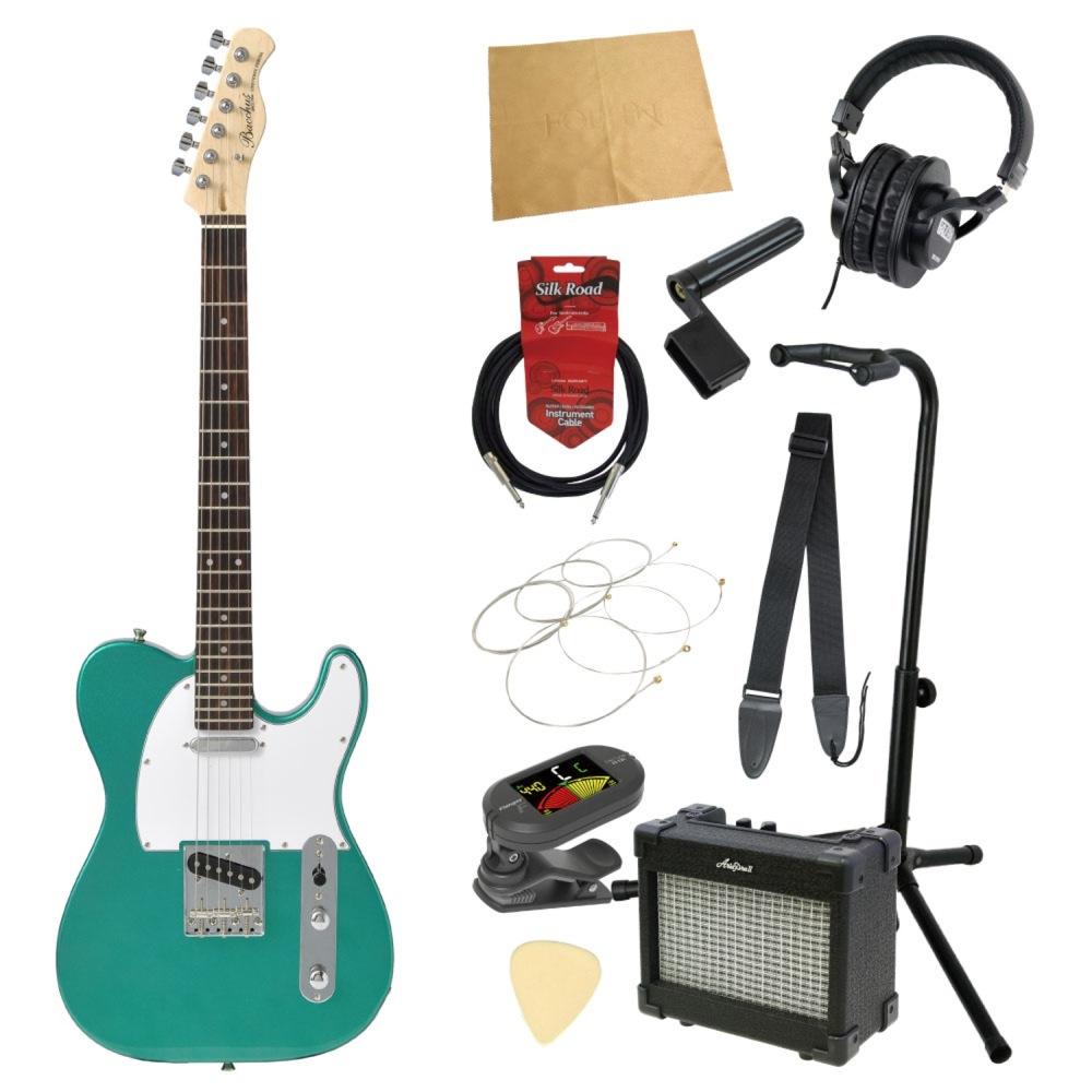 エレキギター入門11点セット BACCHUS BTE-1R GRM