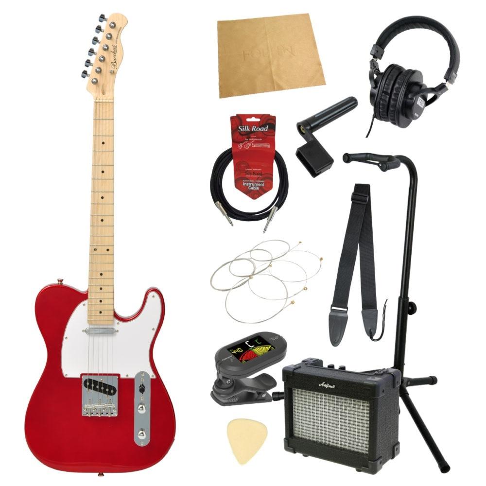 エレキギター入門11点セット BACCHUS BTE-1M CAR