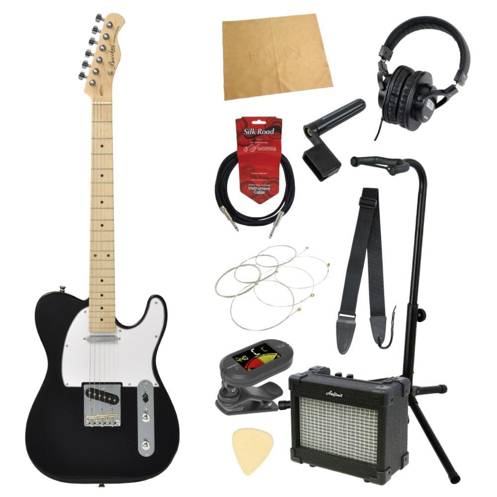 エレキギター入門11点セット BACCHUS BTE-1M BLK