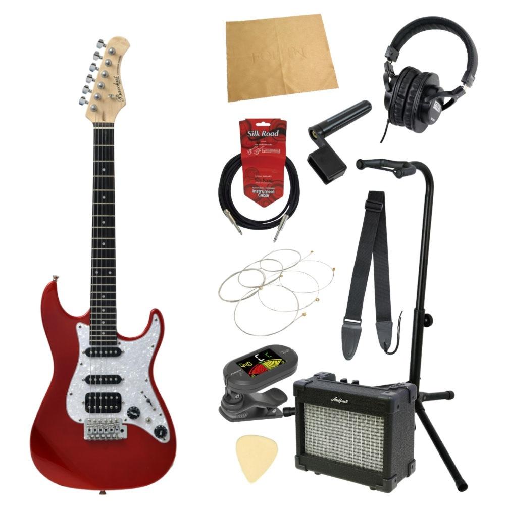 ミニエレキギター入門11点セット BACCHUS GS-Mini CAR