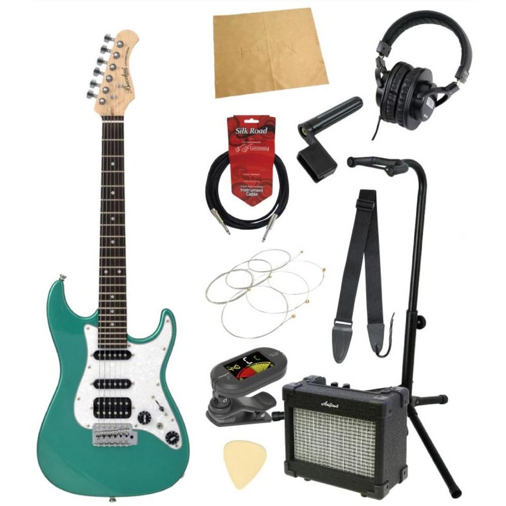 ミニエレキギター入門11点セット BACCHUS GS-Mini GRM