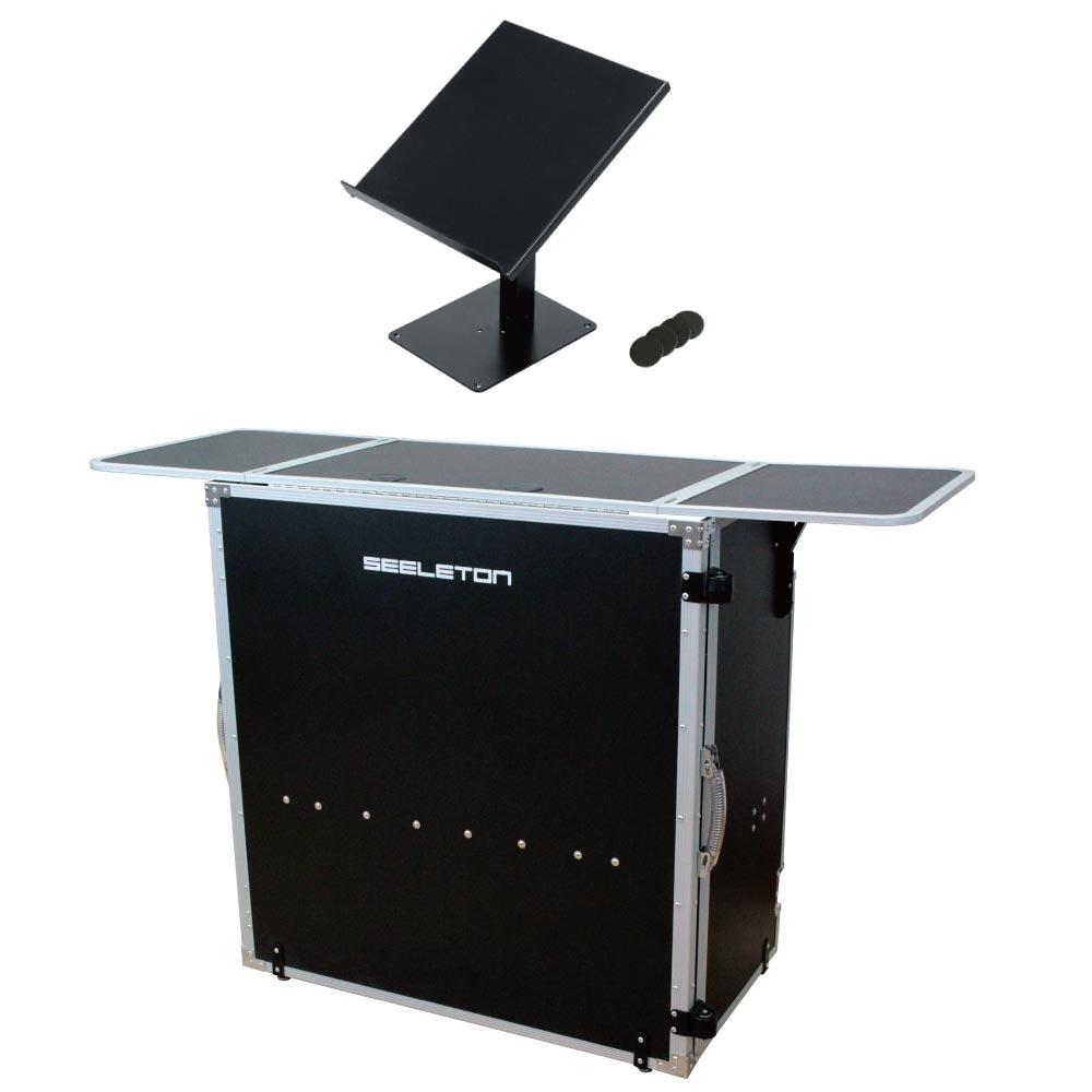 SEELETON SDJT 折りたたみ式 DJテーブル KIKUTANI DJ-CDL CDJ用スタンド 2点セット