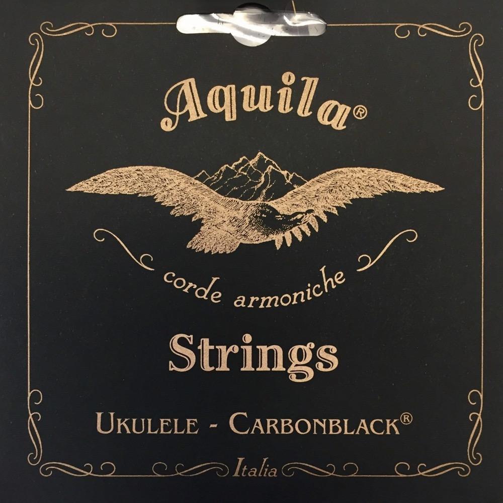 AQUILA AQC-TR 143U Carbonblack Series テナーウクレレ弦×12セット