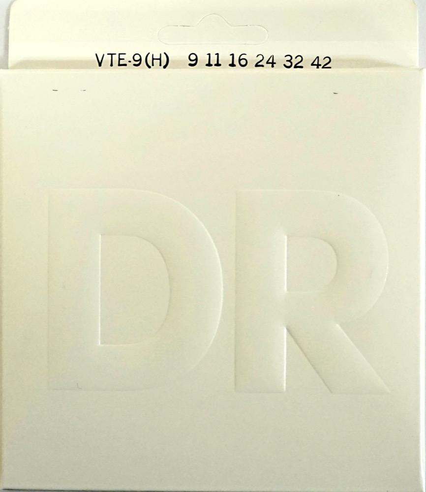 DR VTE-9H VERITAS LIGHT chuyaオリジナルスペック エレキギター弦×12セット