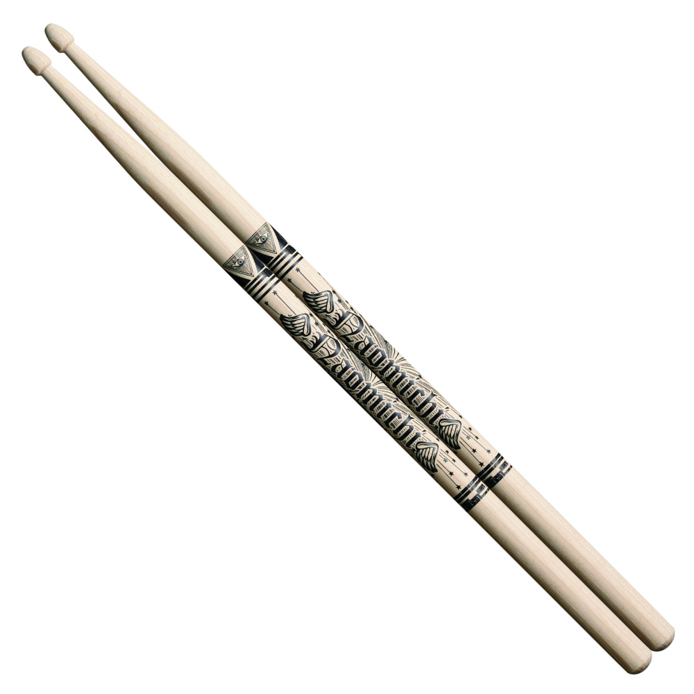 Pearl 181H ナオミチ KNOCK OUT MONKY モデル ドラムスティック×6セット