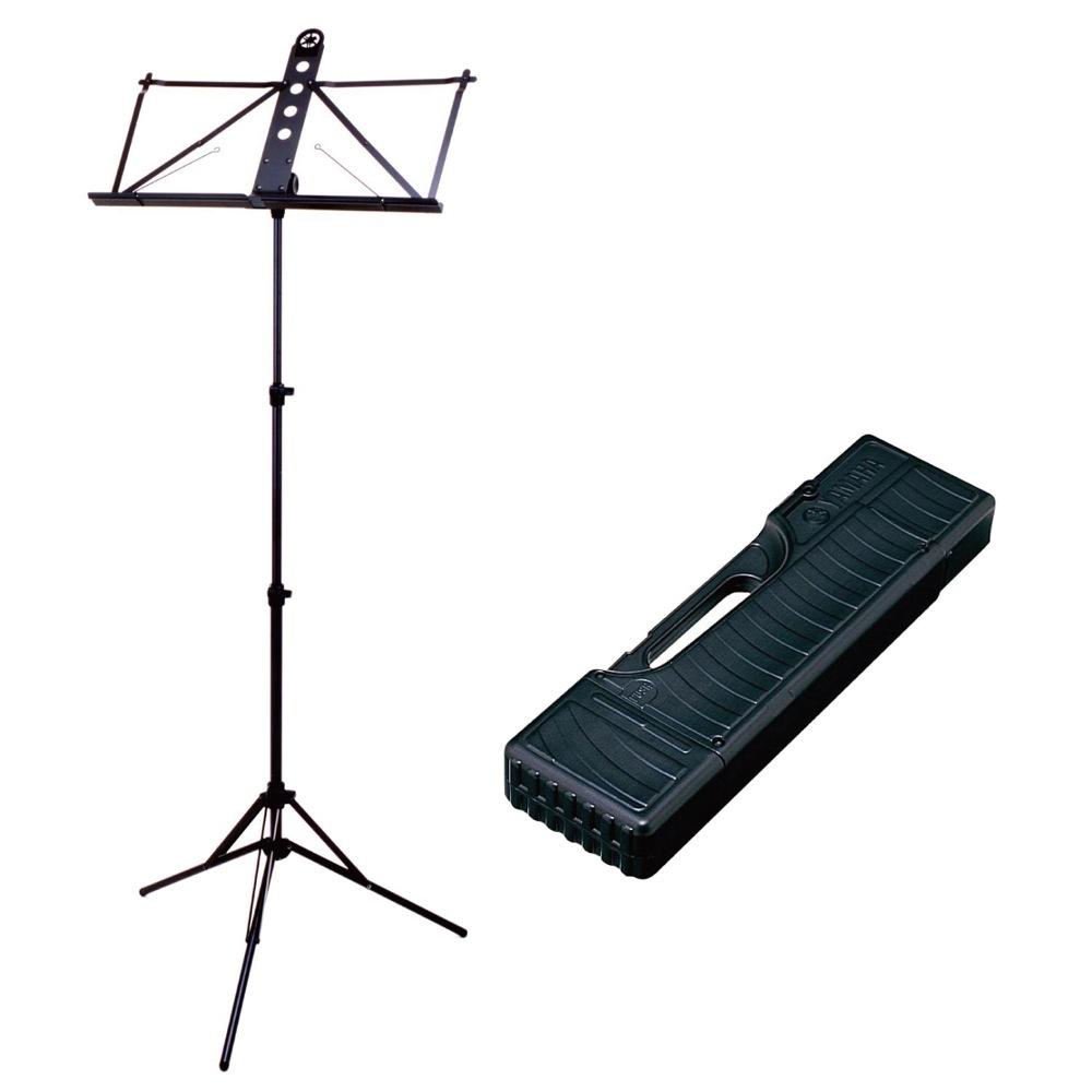 YAMAHA MS-303AL 譜面台 HC-MS300 純正ハードケース付き 2点セット
