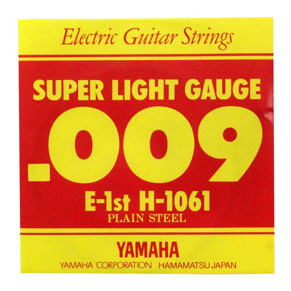 ヤマハ エレキギター用 スーパーライト バラ弦 H1061 1弦 1弦×6本 保証 日時指定 YAMAHA
