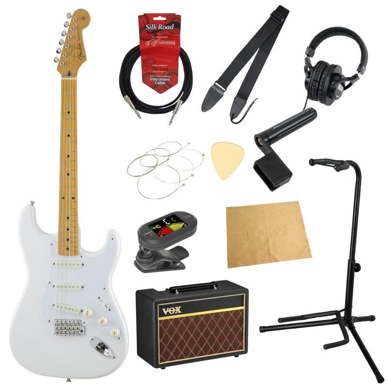 フェンダーから始める!大人の入門セット Fender Made in Japan Traditional '50s Stratocaster AWT エレキギター VOXアンプ付 11点セット