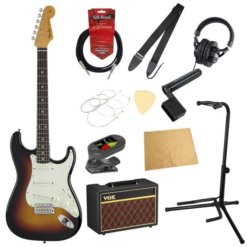 【爆買い!】 フェンダーから始める!大人の入門セット Japan Fender Made in in Japan Traditional '60s 3TSB Stratocaster 3TSB エレキギター VOXアンプ付 11点セット, オーセル:c95be2b5 --- supervision-berlin-brandenburg.com