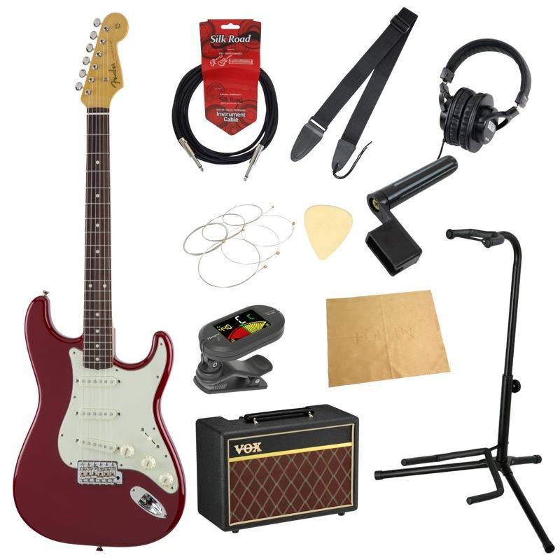 フェンダーから始める!大人の入門セット Fender Made in Japan Traditional '60s Stratocaster TOR エレキギター VOXアンプ付 11点セット