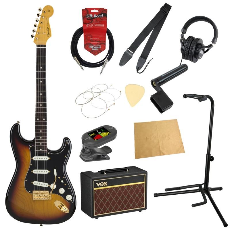 フェンダーから始める!大人の入門セット Fender Made エレキギター 11点セット in Japan Traditional Japan 60s Stratocaster with GHW 3TSB エレキギター VOXアンプ付 11点セット, 木のおもちゃB.B.SHOP:d7dc1e27 --- officewill.xsrv.jp