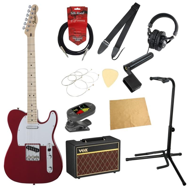 フェンダーから始める!大人の入門セット Fender Made in Japan Traditional 70s Telecaster Ash MN CAR エレキギター VOXアンプ付 11点セット