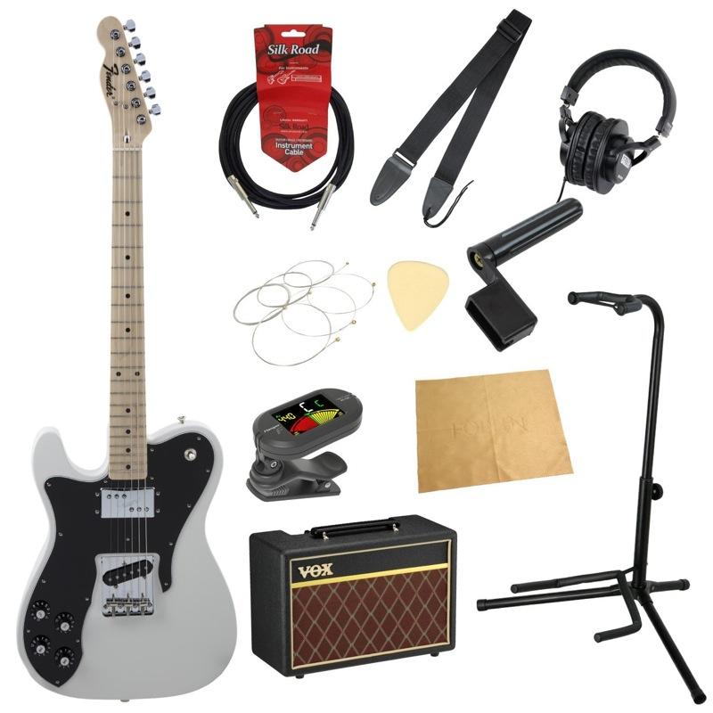 フェンダーから始める!大人の入門セット Fender Made in Japan Traditional 70s Telecaster Custom Left-Hand AWT レフティ エレキギター VOXアンプ付 11点セット