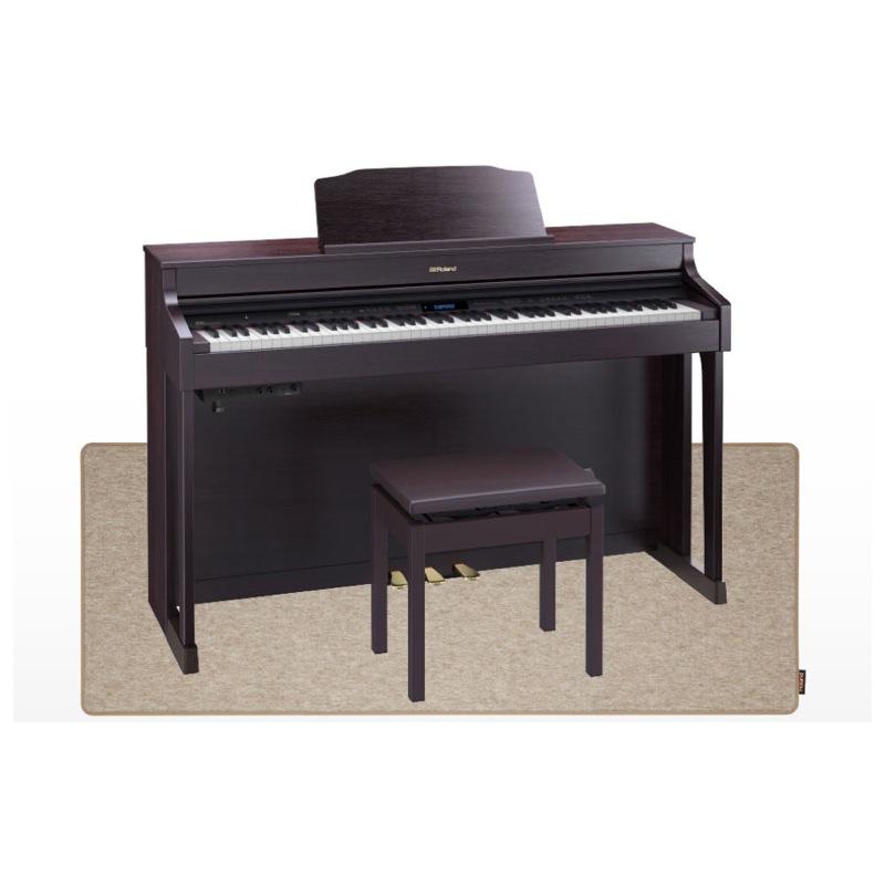 ROLAND HP603-ACR 電子ピアノ ピアノセッティングマット付き セット【組立設置無料サービス中】