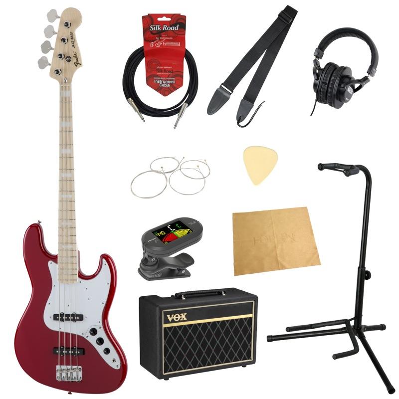 フェンダーから始める!大人の入門セット Fender Made in Japan Traditional '70s Jazz Bass TOR エレキベース VOXアンプ付 10点セット