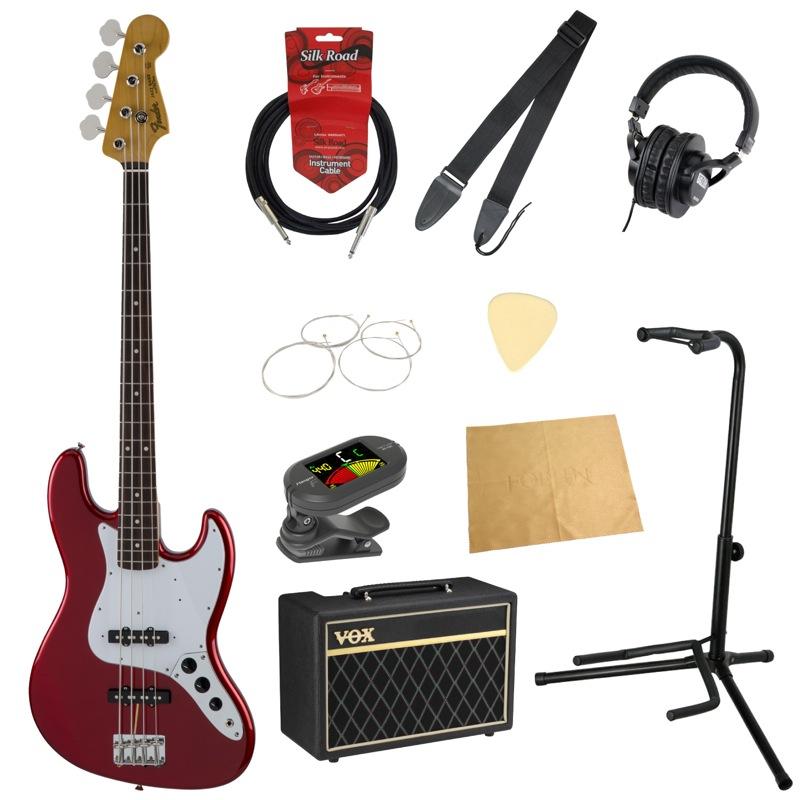 フェンダーから始める!大人の入門セット Fender Made in Japan Traditional '60s Jazz Bass CAR エレキベース VOXアンプ付 10点セット