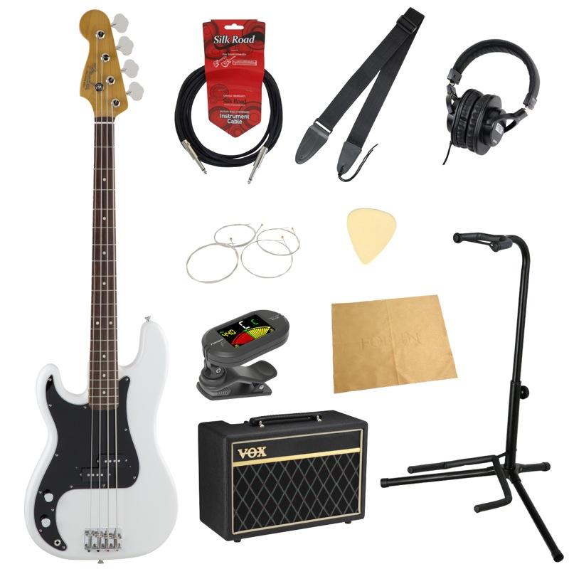フェンダーから始める!大人の入門セット Fender Made in Japan Traditional '60s Precision Bass Left-Hand AWT レフティ エレキベース VOXアンプ付 10点セット