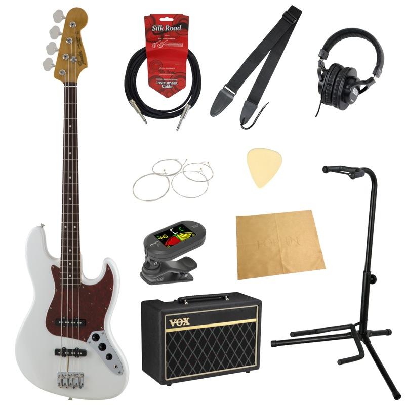 フェンダーから始める!大人の入門セット Fender Made in Japan Traditional '60s Jazz Bass エレキベース VOXアンプ付 10点セット