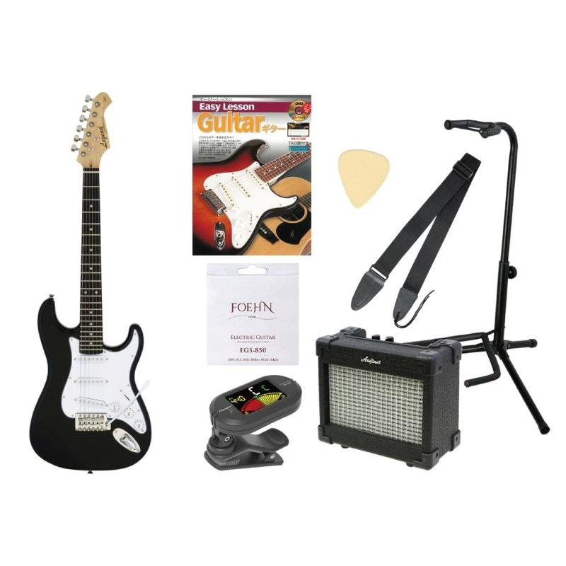 ミニ エレキギター入門セット LEGEND LST-MINI BK