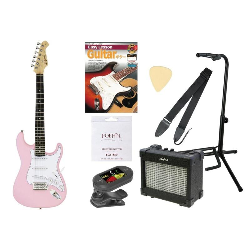 ミニ エレキギター入門セット LEGEND LST-MINI KWPK