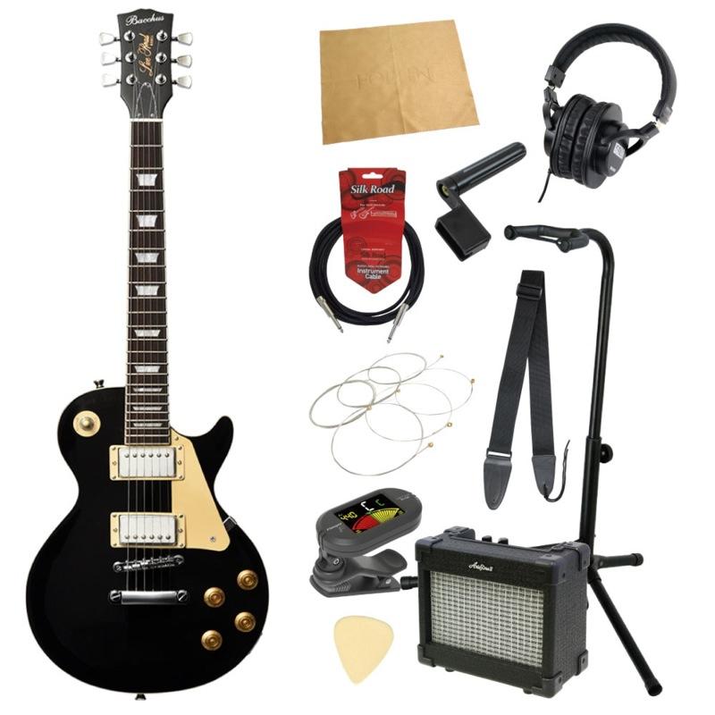 ミニエレキギター入門11点セット BACCHUS BLP-Mini BLK