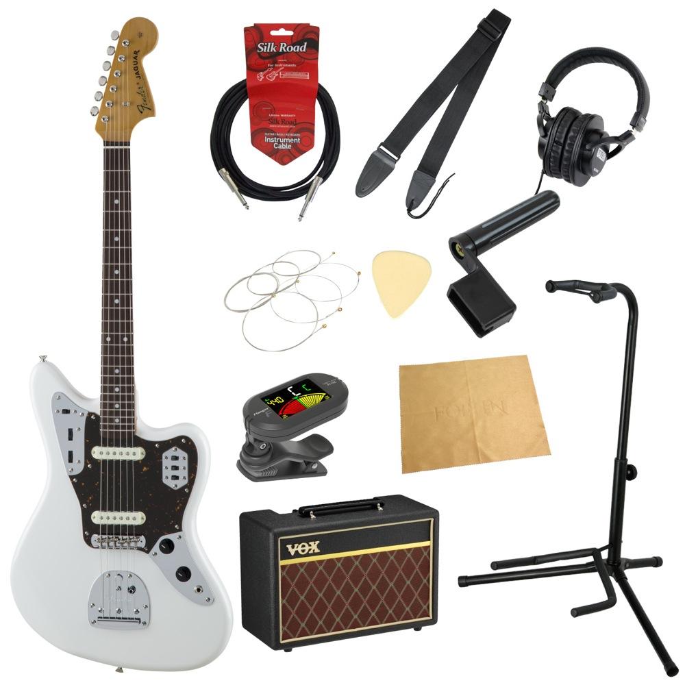 フェンダーから始める!大人の入門セット Fender Made in Japan Traditional '60s Jaguar AWT エレキギター VOXアンプ付 11点セット