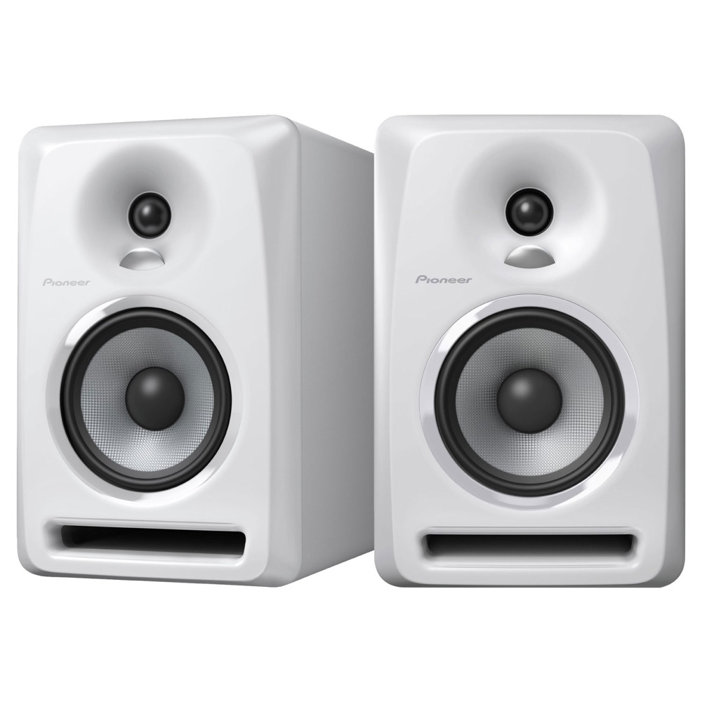 Pioneer S-DJ50X-W White パワードモニタースピーカー 1ペア(2台)
