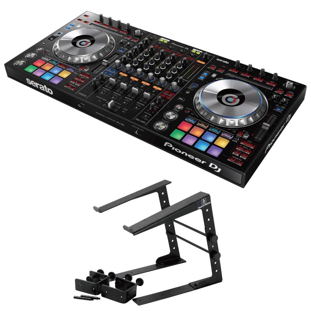 Pioneer DDJ-SZ2 DJコントローラー Dicon Audio LPS-002 ラップトップスタンド 2点セット