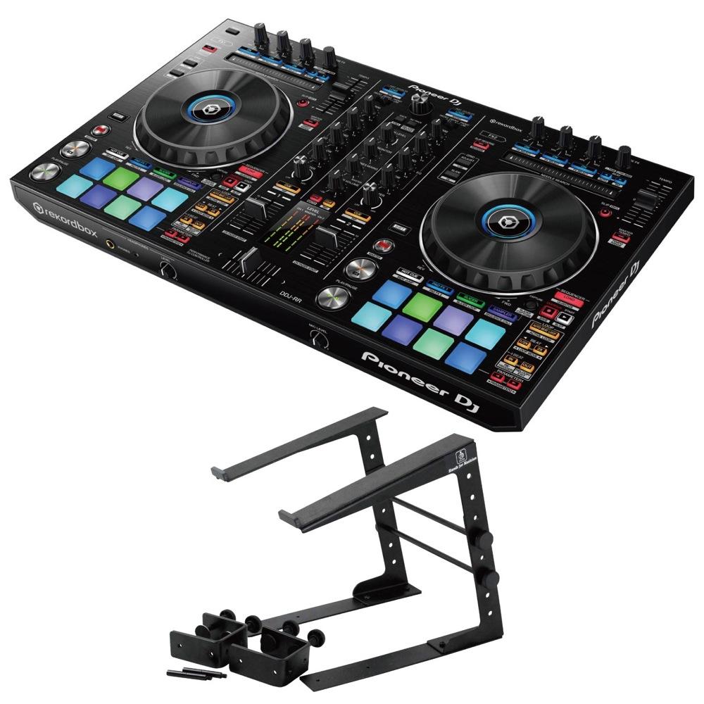 Pioneer DDJ-RR DJコントローラー Dicon Audio LPS-002 ラップトップスタンド 2点セット