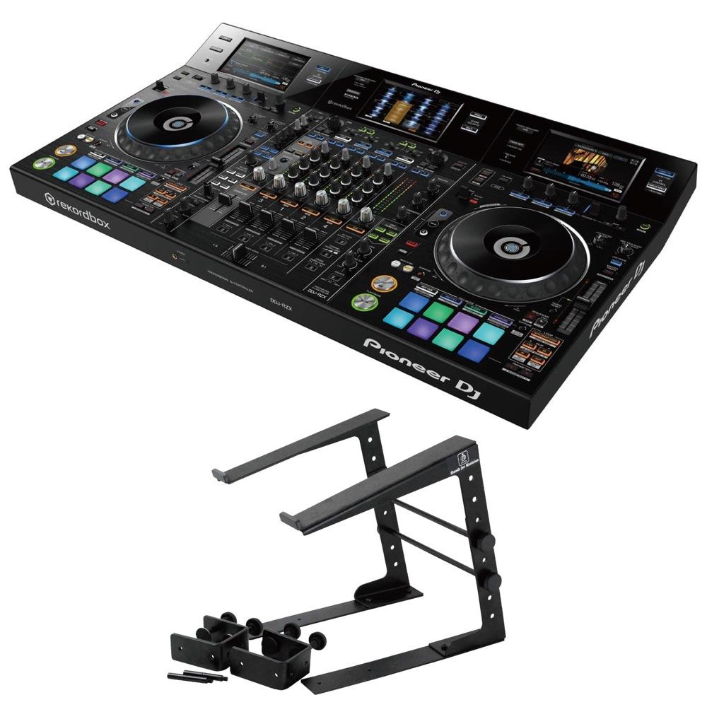Pioneer DDJ-RZX DJコントローラー Dicon Audio LPS-002 ラップトップスタンド 2点セット