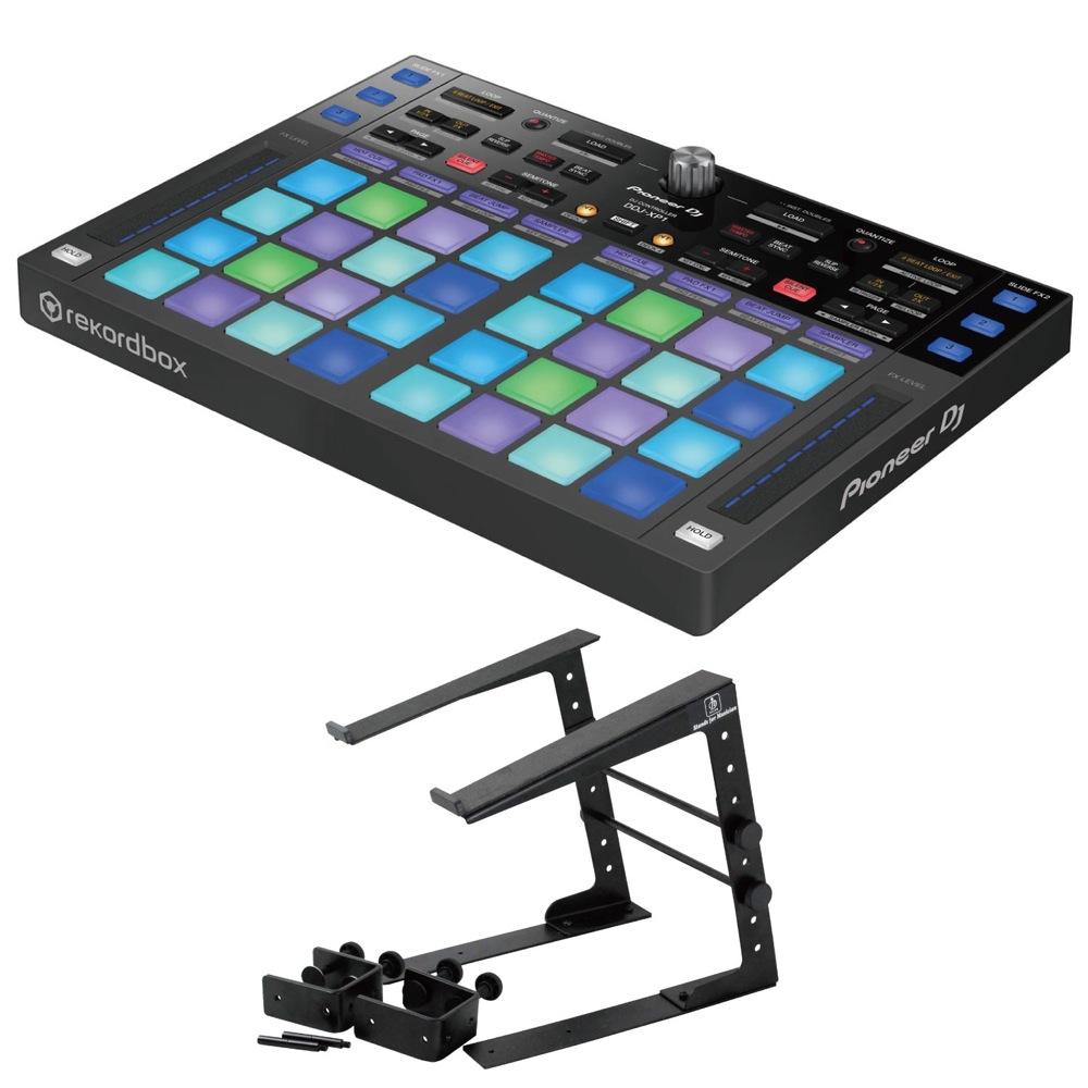 Pioneer DDJ-XP1 DJコントローラー Dicon Audio LPS-002 ラップトップスタンド 2点セット