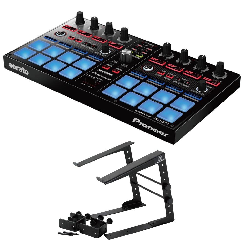 Pioneer DDJ-SP1 DJコントローラー Dicon Audio LPS-002 ラップトップスタンド 2点セット