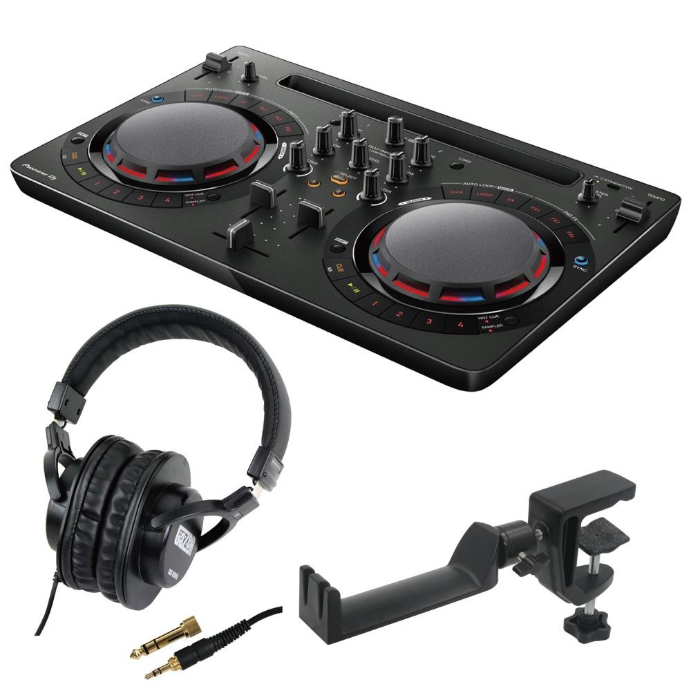 当店だけの限定モデル Pioneer DDJ-WEGO4-K black DJコントローラー SD GAZER SDG-H5000 ヘッドホン SEELETON SMH-1 ヘッドホンハンガー 3点セット, カミヤクチョウ 73595a90