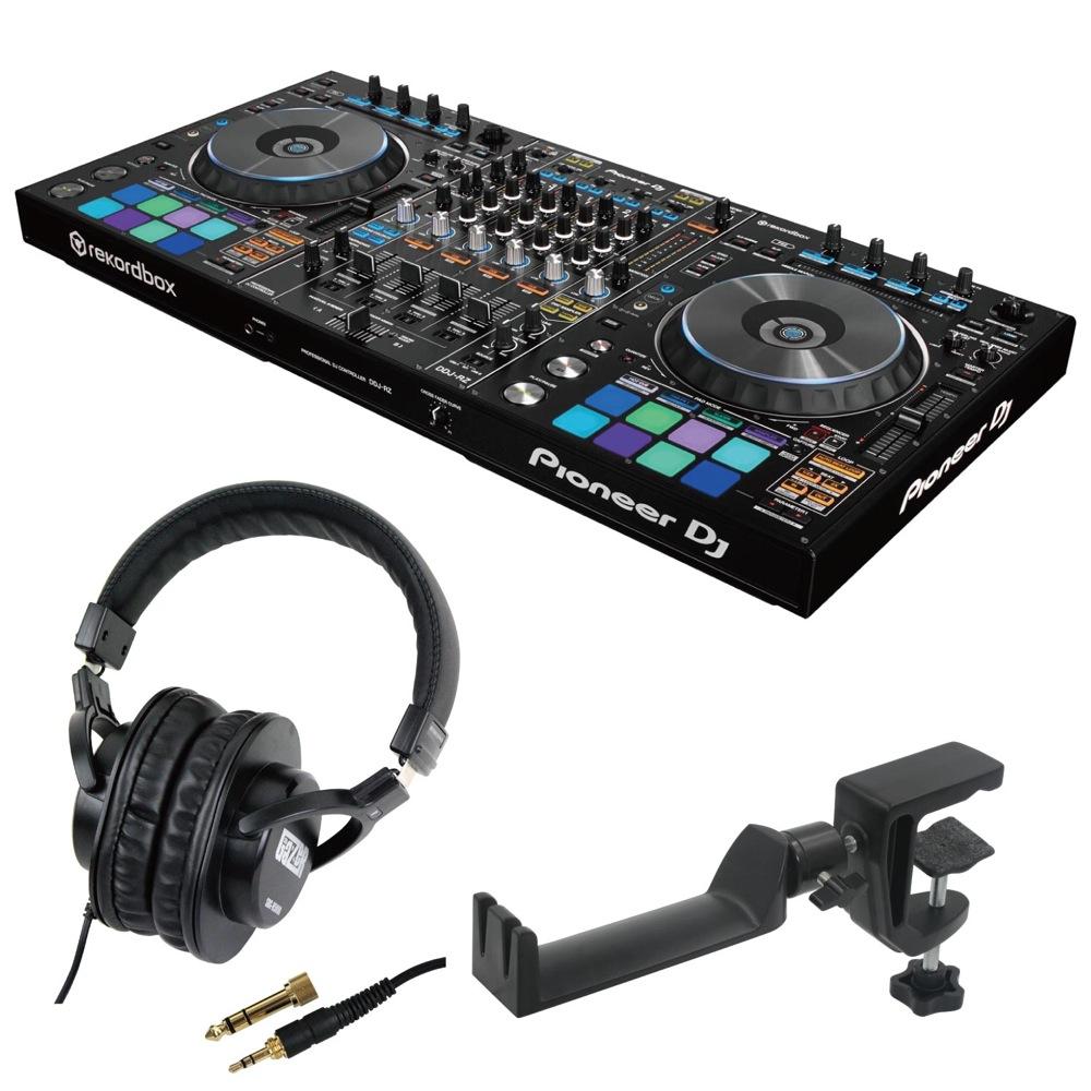 Pioneer DDJ-RZ DJコントローラー SD GAZER SDG-H5000 ヘッドホン SEELETON SMH-1 ヘッドホンハンガー 3点セット