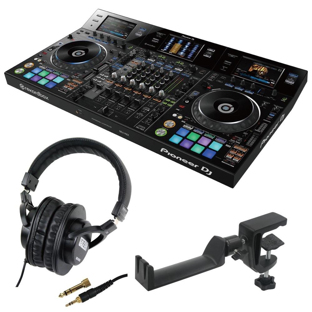 Pioneer DDJ-RZX DJコントローラー SD GAZER SDG-H5000 ヘッドホン SEELETON SMH-1 ヘッドホンハンガー 3点セット