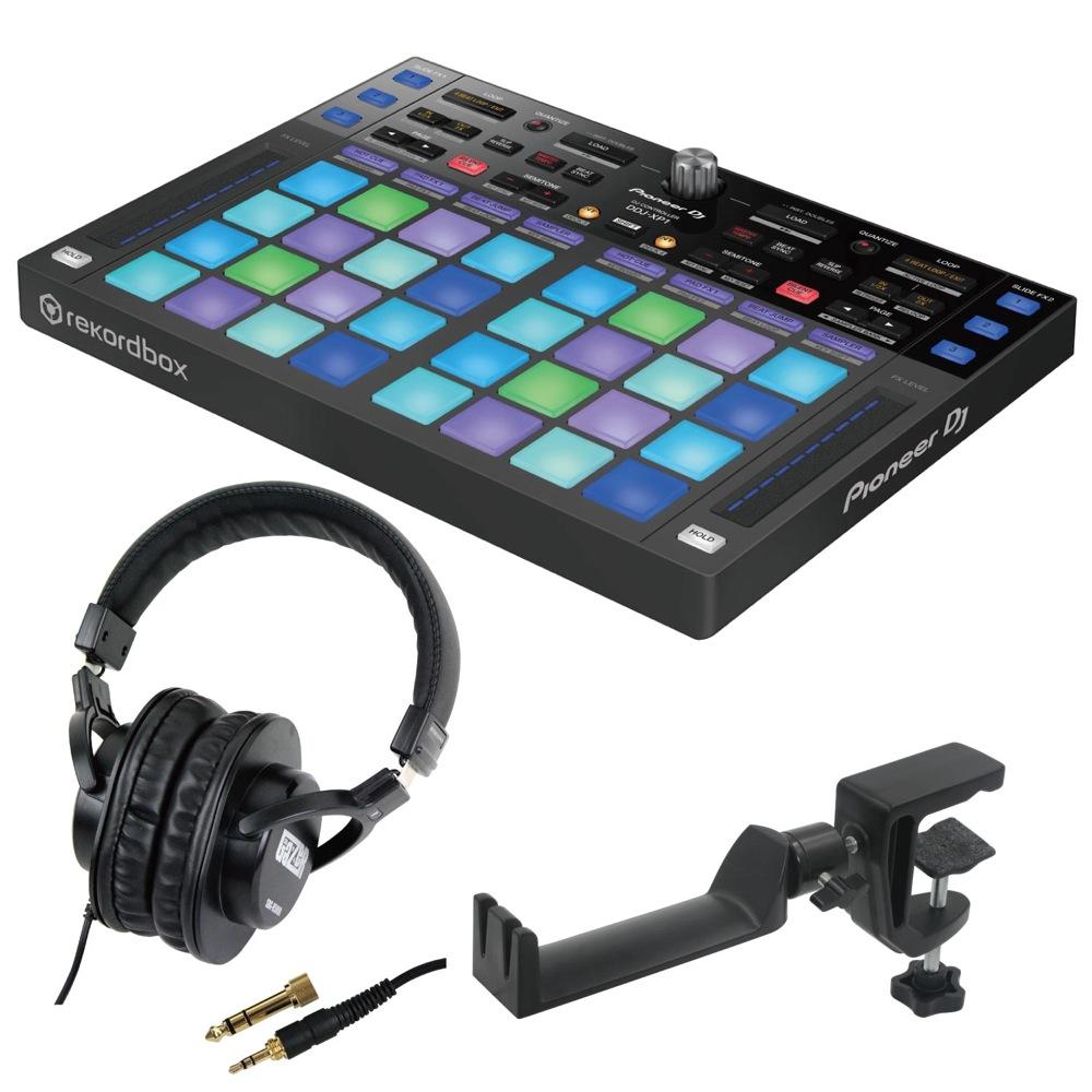 Pioneer DDJ-XP1 DJコントローラー SD GAZER SDG-H5000 ヘッドホン SEELETON SMH-1 ヘッドホンハンガー 3点セット