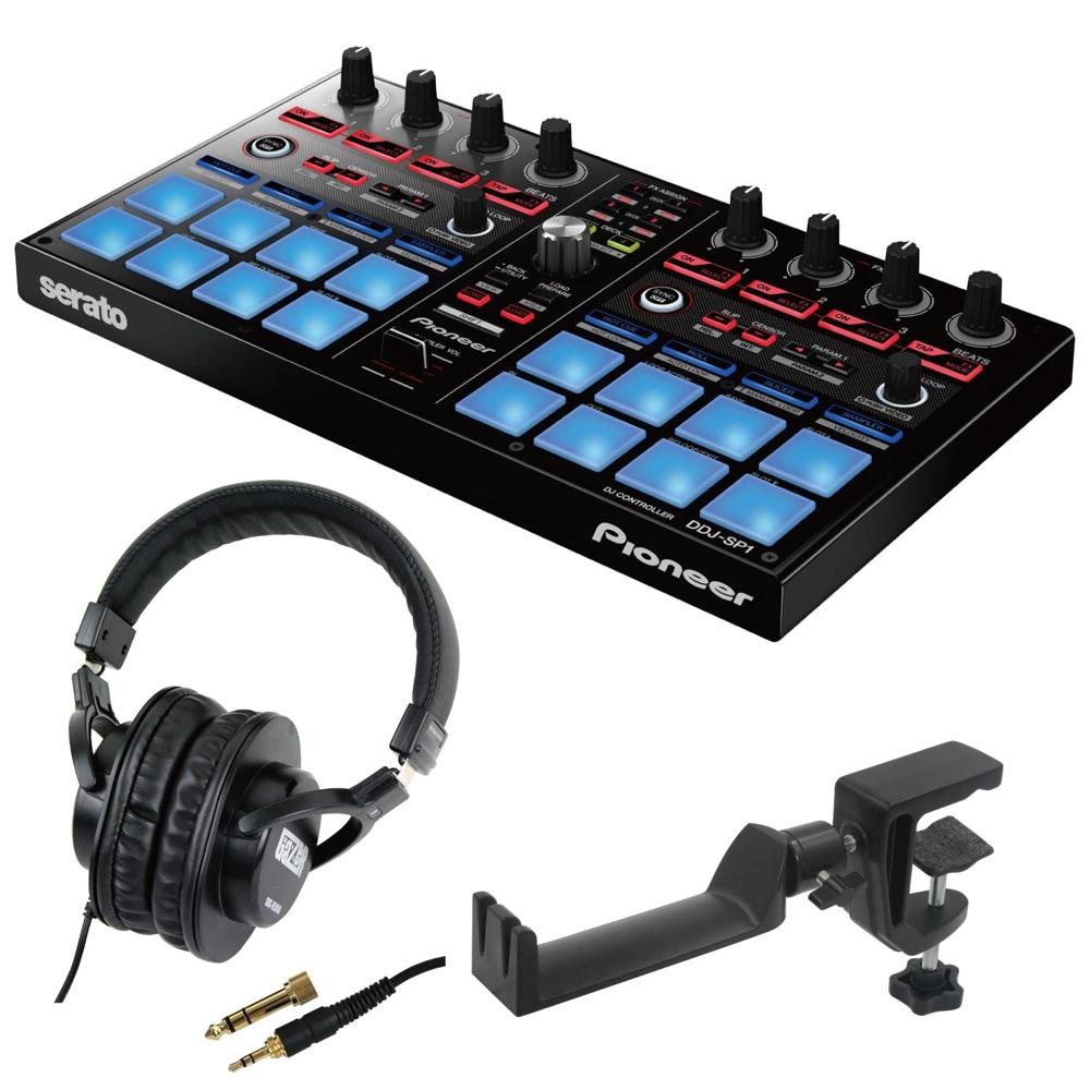 Pioneer DDJ-SP1 DJコントローラー SD GAZER SDG-H5000 ヘッドホン SEELETON SMH-1 ヘッドホンハンガー 3点セット