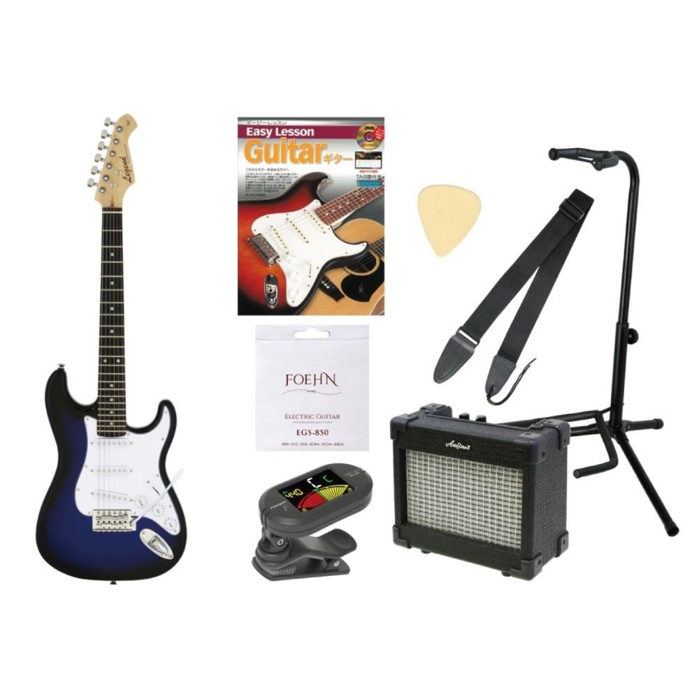 ミニ エレキギター入門セット LEGEND LST-MINI BBS