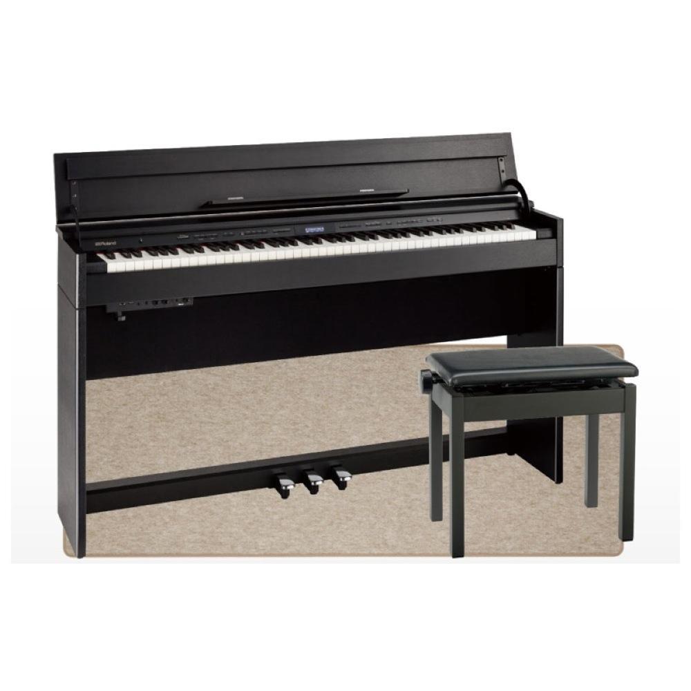 ROLAND DP603-CBS Digital Piano 黒木目調仕上げ 電子ピアノ 高低自在イス&ピアノセッティングマット付き セット 【組立設置無料サービス中】