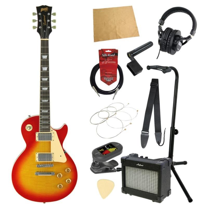 エレキギター入門11点セット BLITZ by ARIA BLP-450 CS