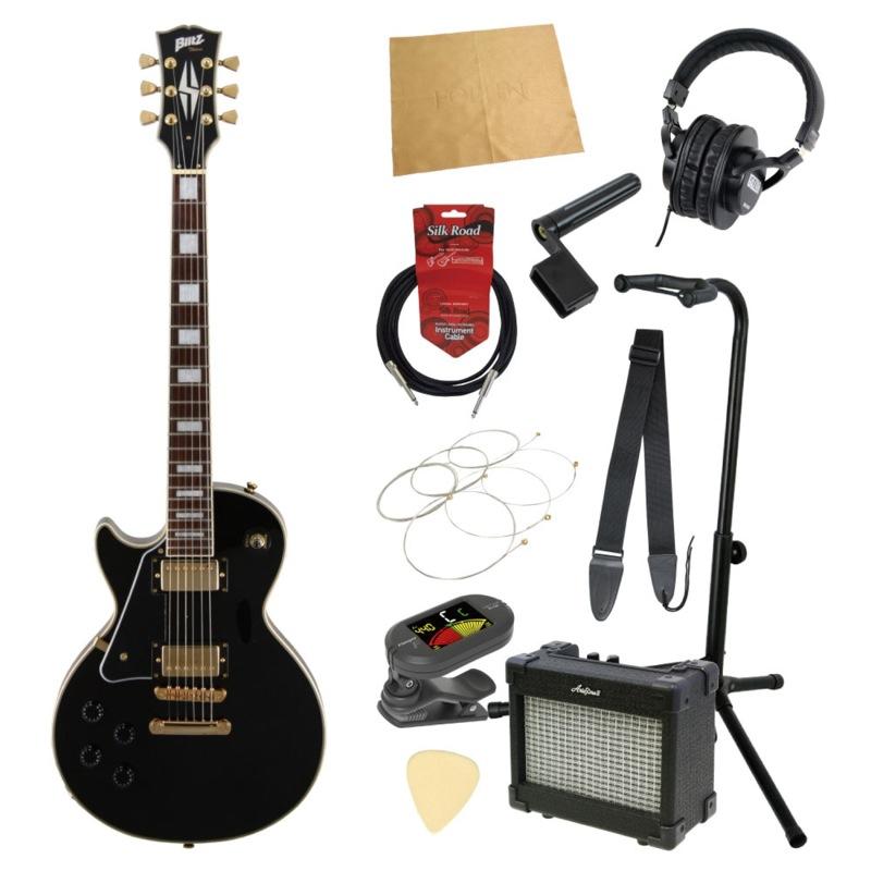 エレキギター入門11点セット BLITZ by ARIA BLP-CST LH BK 左用